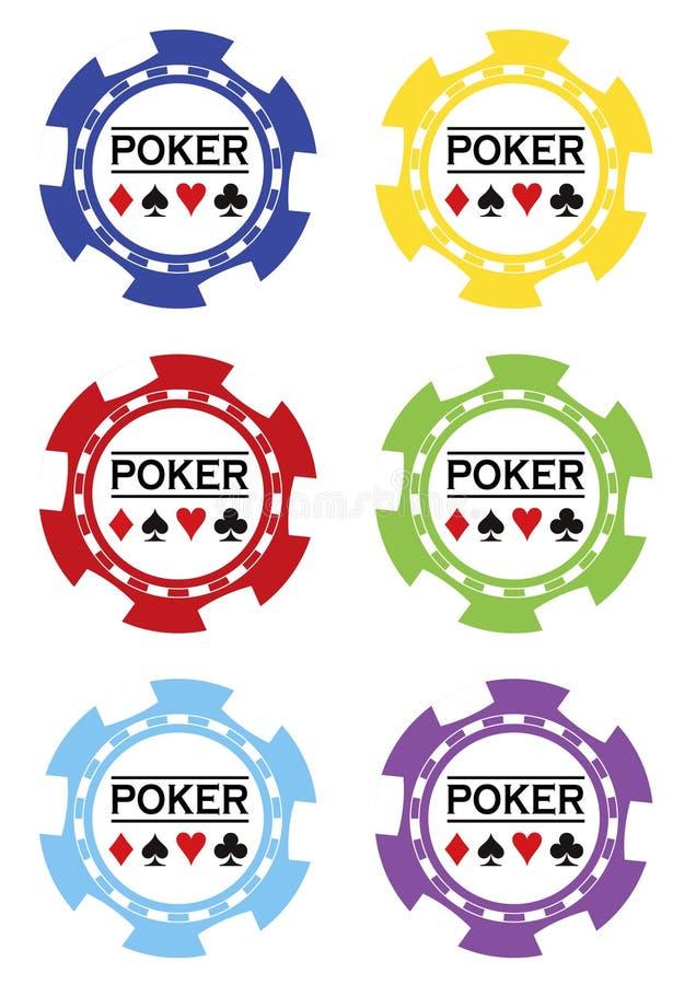 Download Poker Chips Vektor Royalty Free Stock Images - Image: 15310629