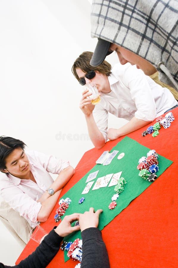 Poker game royalty free stock photo