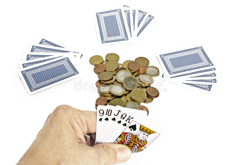 Download Poker game stock image. Image of competition, game, detail - 23545093