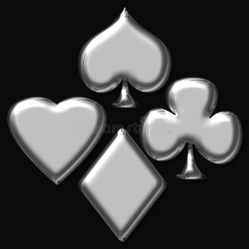 Poker game vector illustration