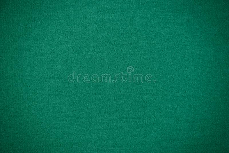 Poker green table texture stock image