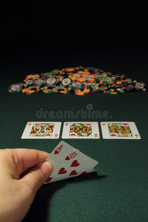 Download Poker Hand Stock Image - Image: 13195291