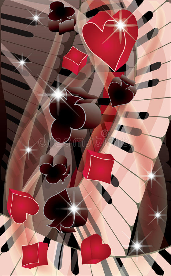 Download Poker Melody Banner Royalty Free Stock Image - Image: 24054756