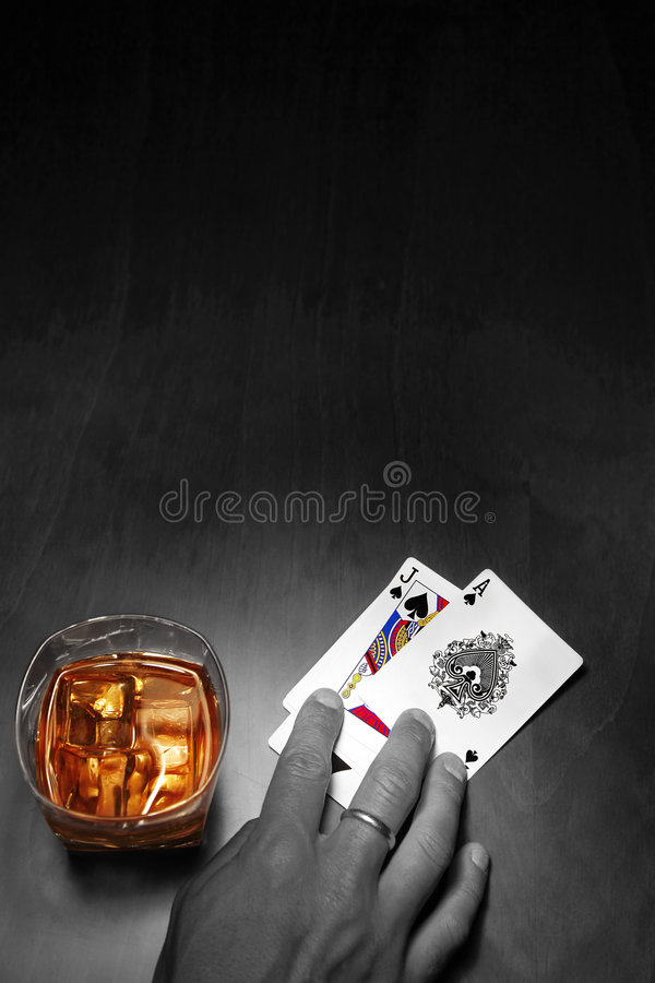 Free Poker Noir Royalty Free Stock Images - 2547899