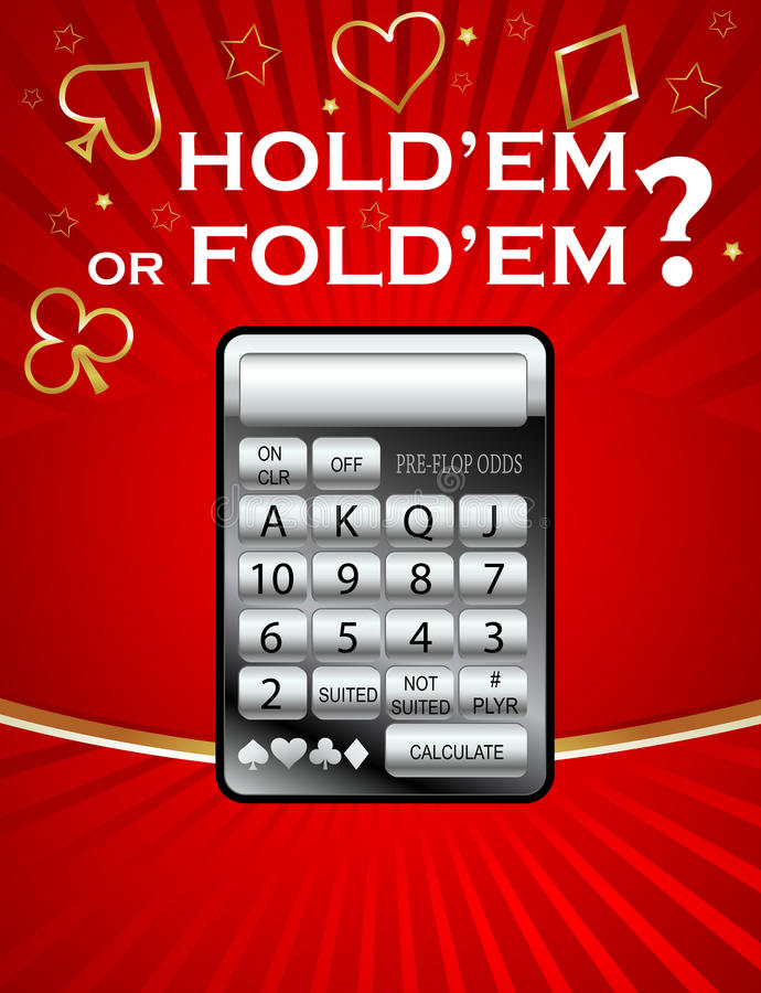 Free Poker Odds Calculator Stock Images - 12611464