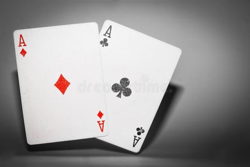 Poker-Sprung stockfotos