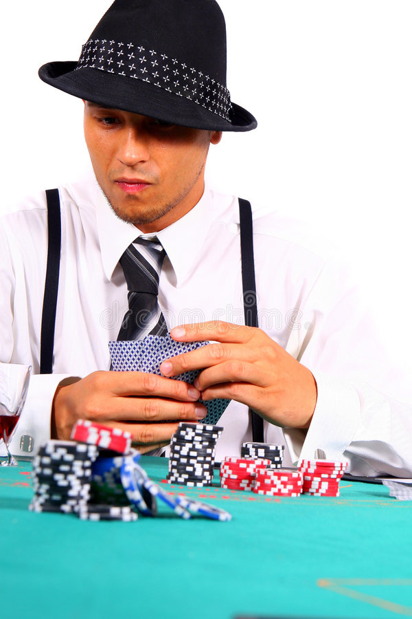 Poker In Style stock photo