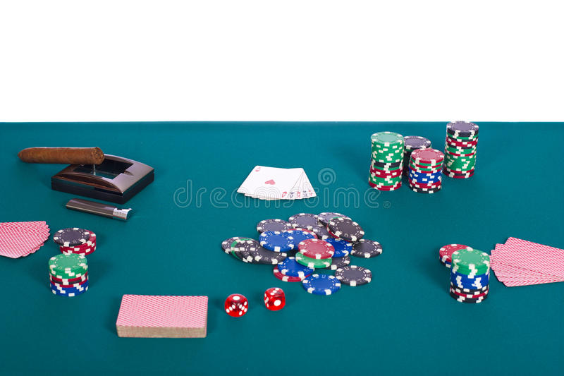 Download Poker Table Royalty Free Stock Image - Image: 18977656