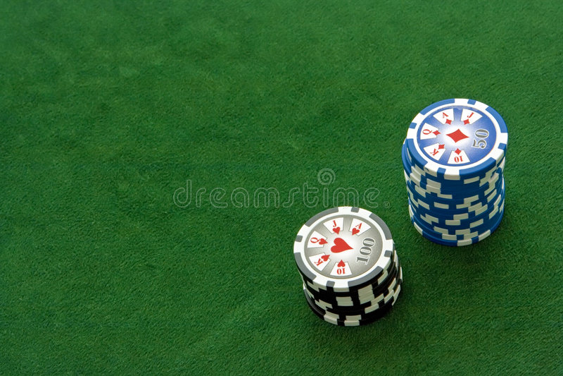 poker table στοκ εικόνα με δικαίωμα ελεύθερης χρήσης