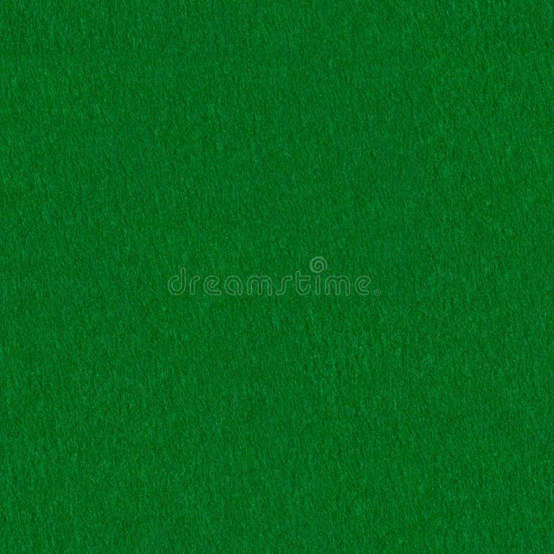 Poker table felt background. Seamless square texture, tile ready. High resolution photo royalty free stock photo