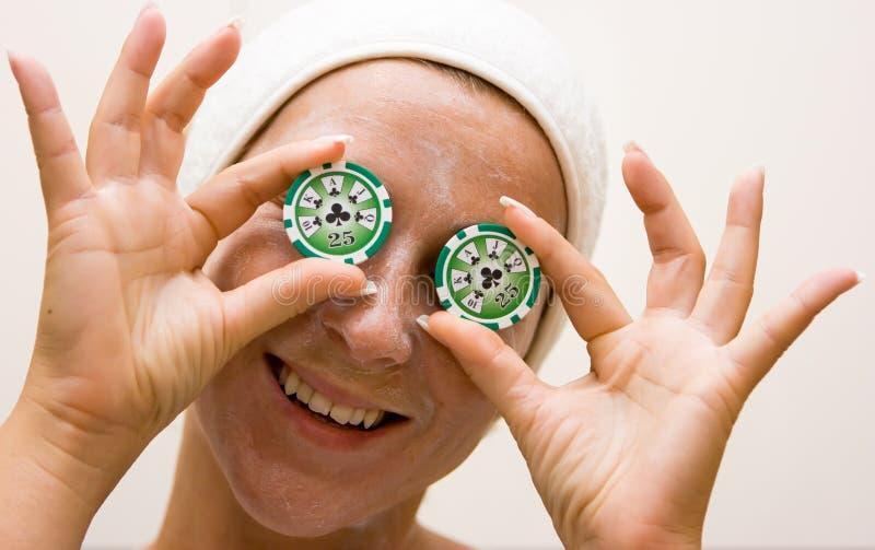 pokerbrunnsort royaltyfri bild