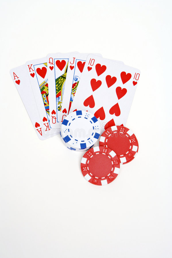 Download Pokerchips And Playingcards Stock Image - Image: 8021065