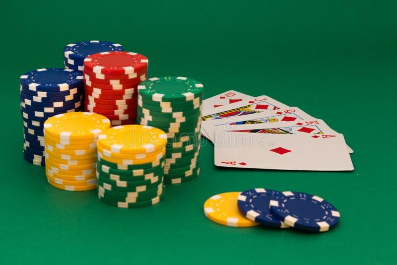 Pokerkarte lizenzfreies stockfoto