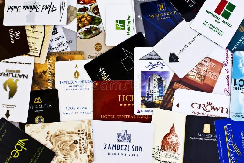 Pokojów Hotelowych klucze fotografia royalty free