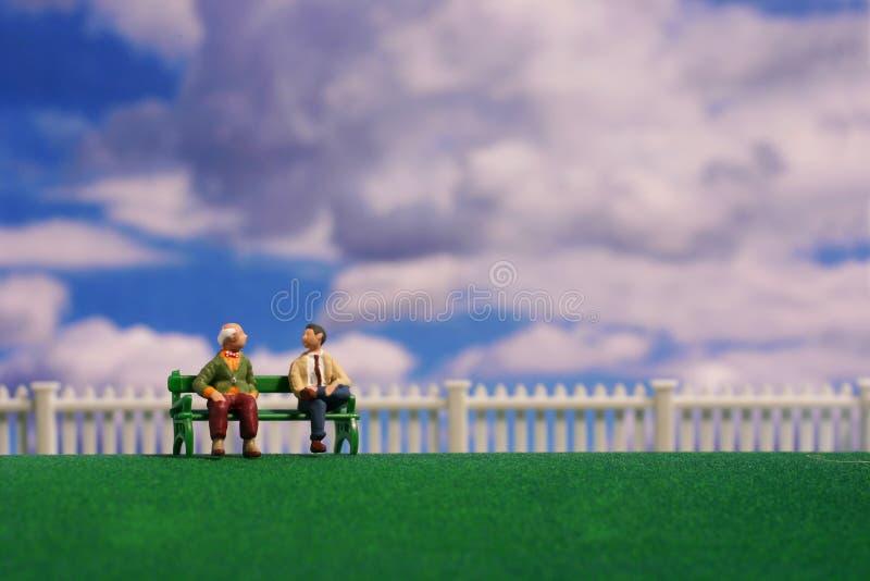 pokojowe rozmowy zdjęcia royalty free