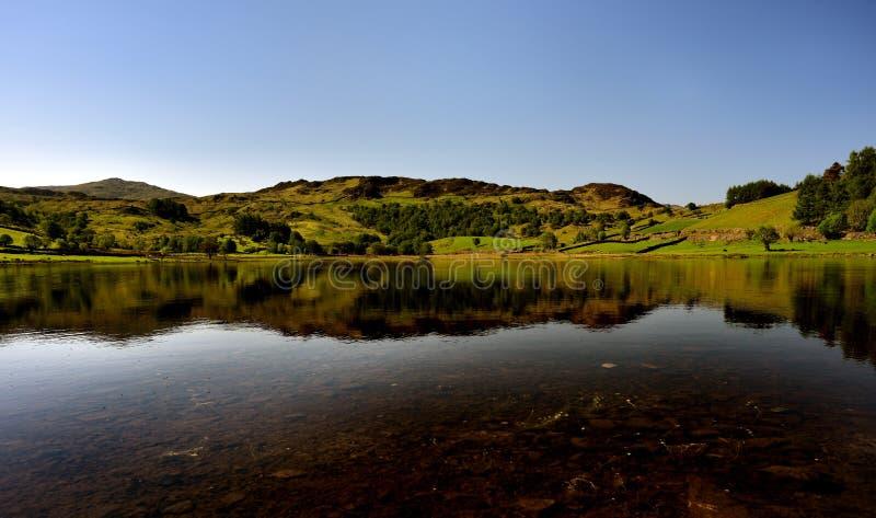 Pokojowy odbicie na jeziorze zdjęcie stock