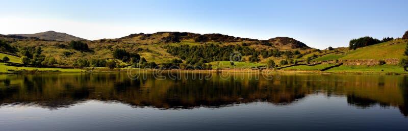 Pokojowy odbicie na jeziorze obraz stock