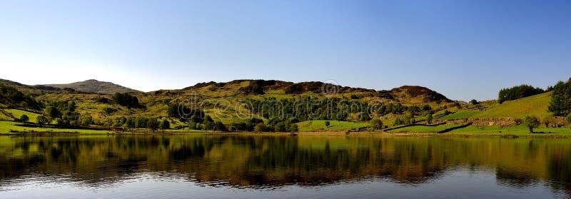 Pokojowy odbicie na jeziorze obraz royalty free