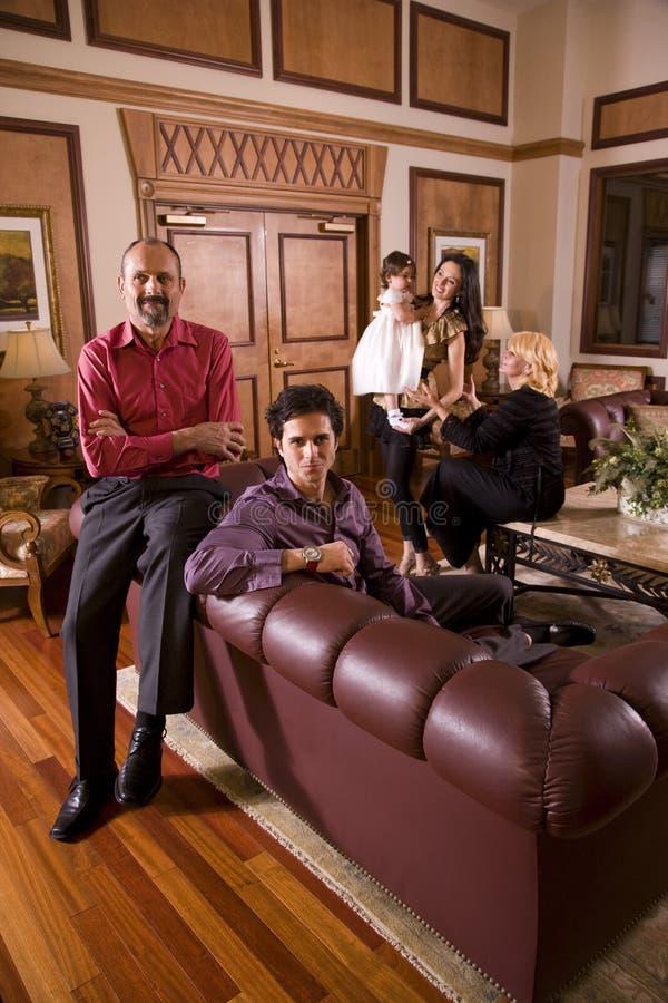 pokolenia trzy zdjęcie royalty free