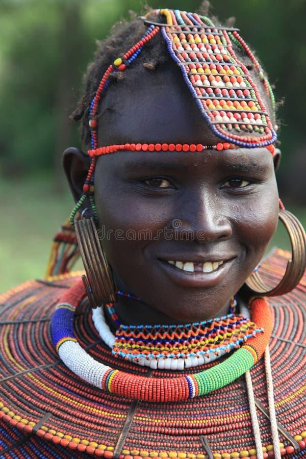 Free Pokot Girl Stock Photography - 11434752