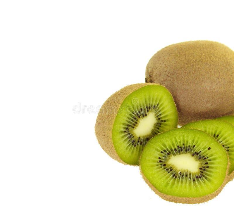 Pokrojona wapno owoc odizolowywająca na białym tle zdjęcie royalty free