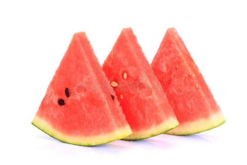Pokrojony ââwatermelon obraz stock