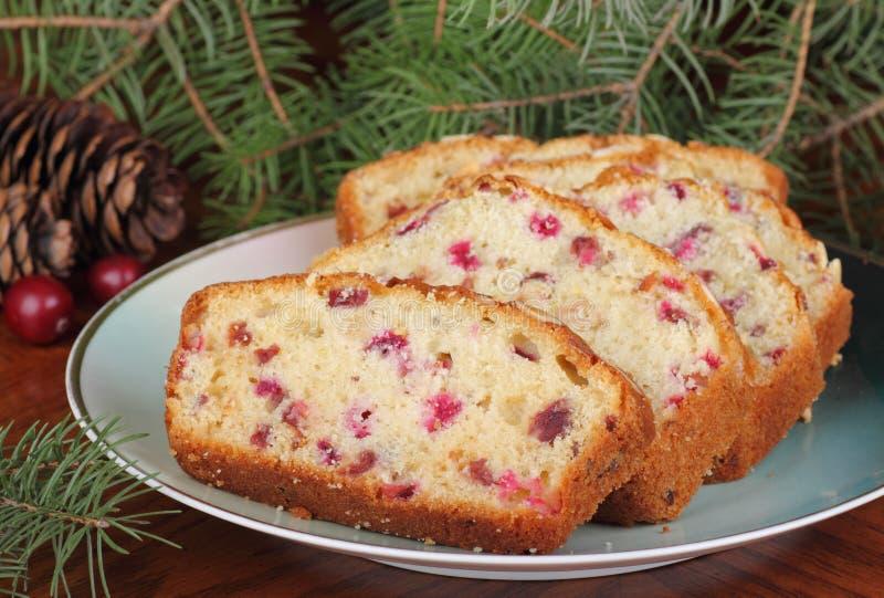 Pokrojony Bożenarodzeniowy chleb obraz royalty free