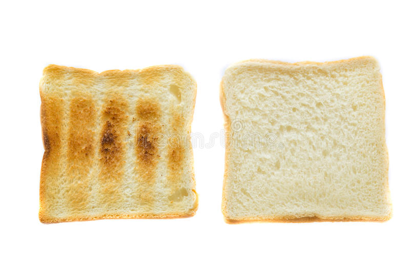 Pokrojony chleb i grzanka zdjęcie royalty free