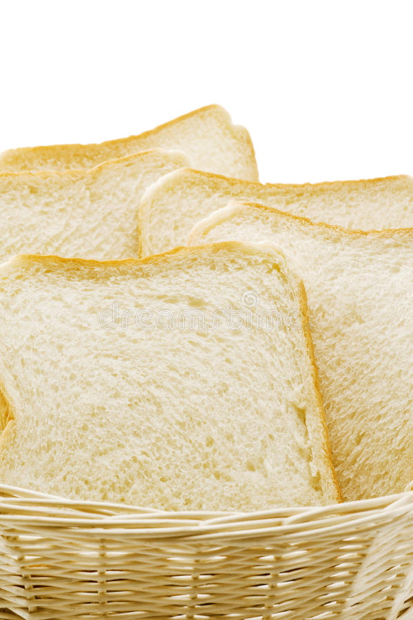 Pokrojony prosty chleb zdjęcia royalty free