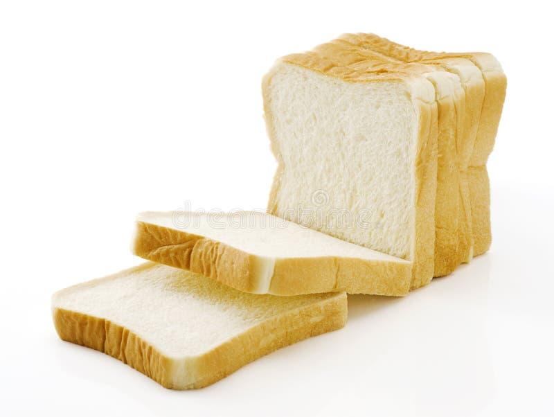 Pokrojony prosty chleb obrazy stock