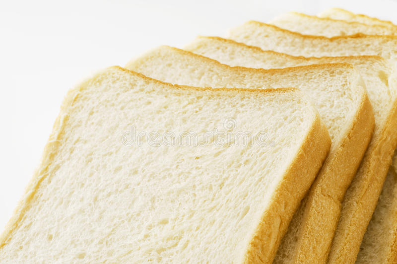Pokrojony prosty chleb zdjęcie royalty free