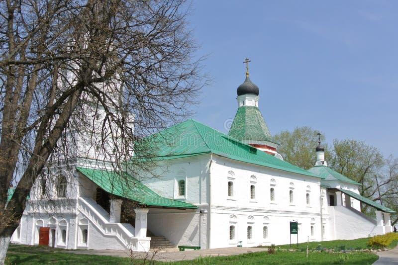 Pokrovskaya Church, the XVI-XVII, Aleksandrov, Russia stock photography