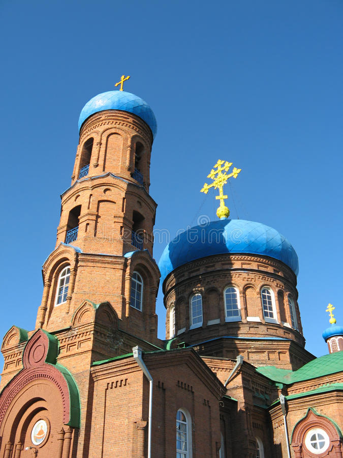 Download Pokrovsky Cathedral. Barnaul Stock Photo - Image of religion, molded: 24754048