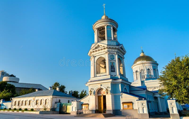 Pokrovsky-Kathedrale in Voronezh, Russland lizenzfreie stockfotos
