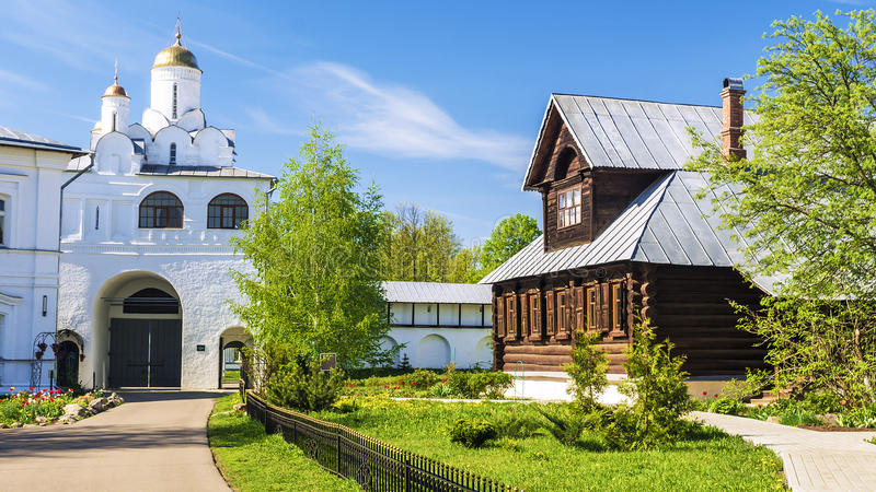 Pokrovsky monastery in Suzdal, Golden Ring of Russia stock images