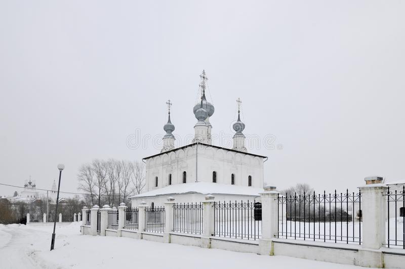 Pokrovsky Monastery - Suzdal, Russia royalty free stock photo