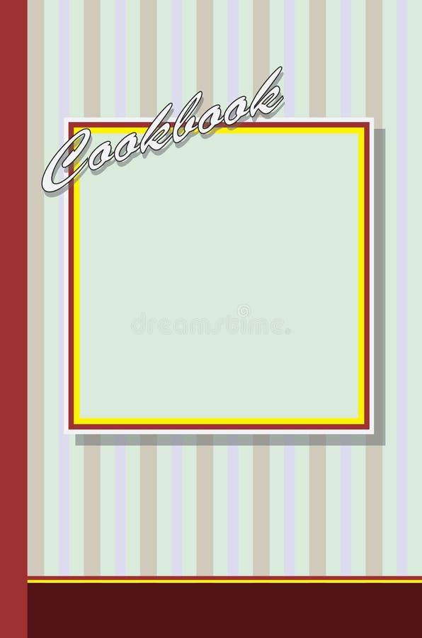 Pokrywa dla książki kucharskiej ilustracji