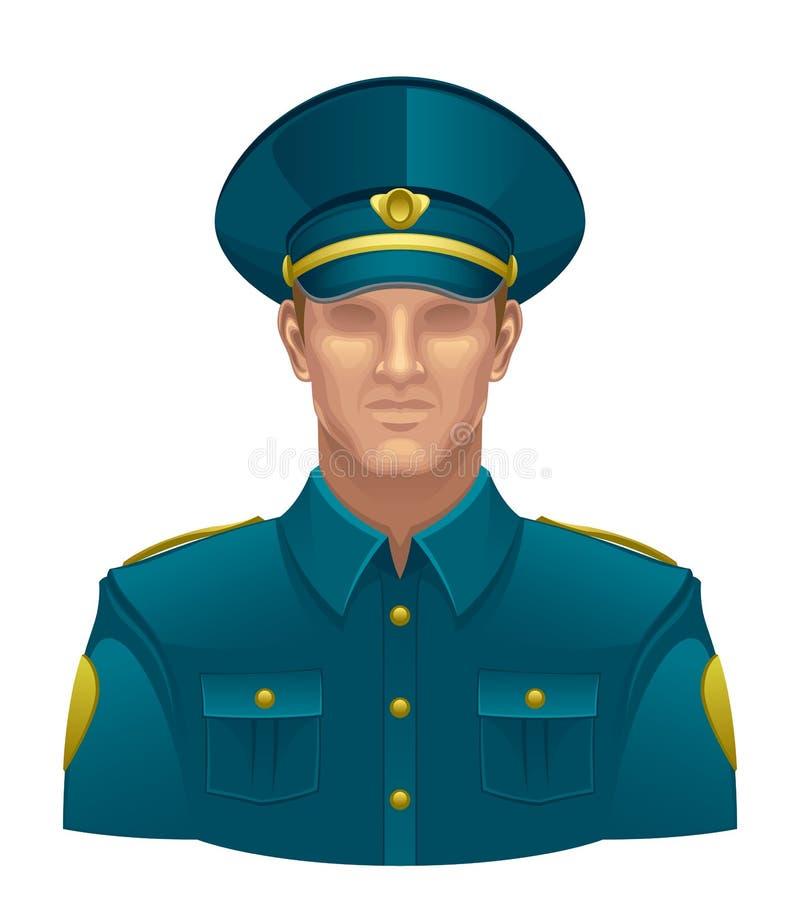 polícia ilustração stock