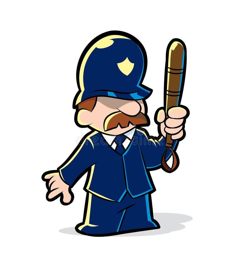Polícia ilustração royalty free