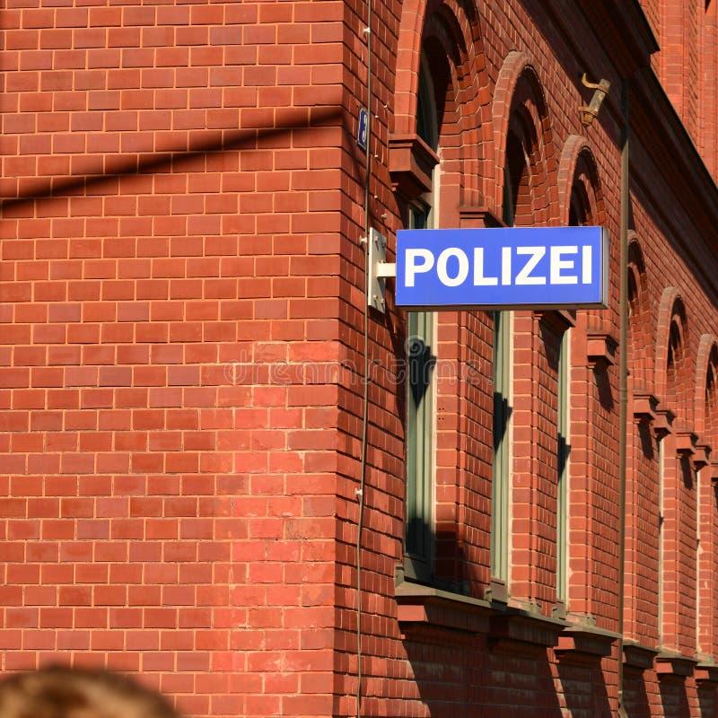 Polícia alemão foto de stock