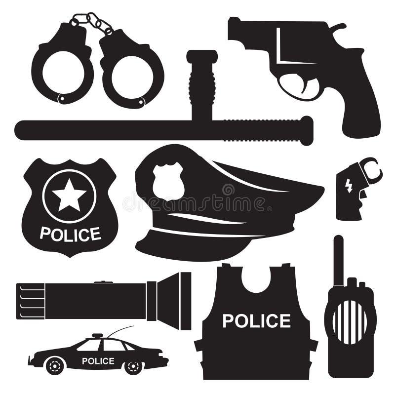 Polícia da munição ilustração do vetor