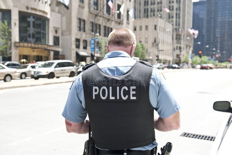 Polícia em Chicago imagens de stock