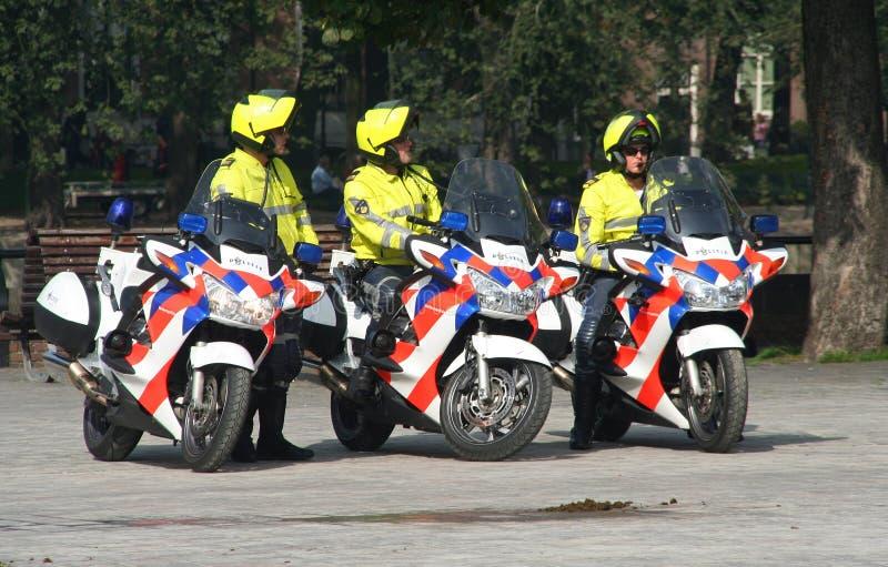 Polícia em Prinsjesdag imagens de stock