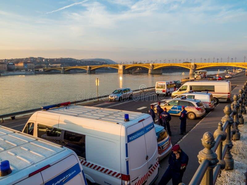 Polícia húngara imagens de stock