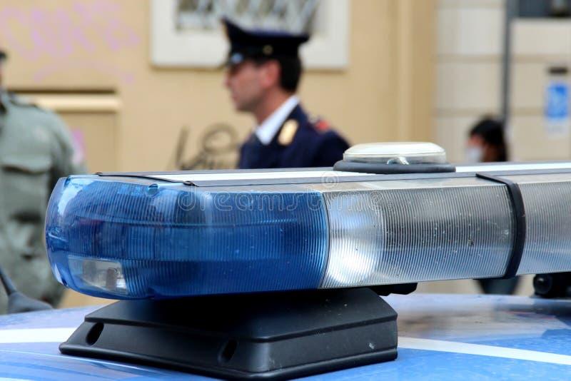Polícia italiana imagem de stock royalty free