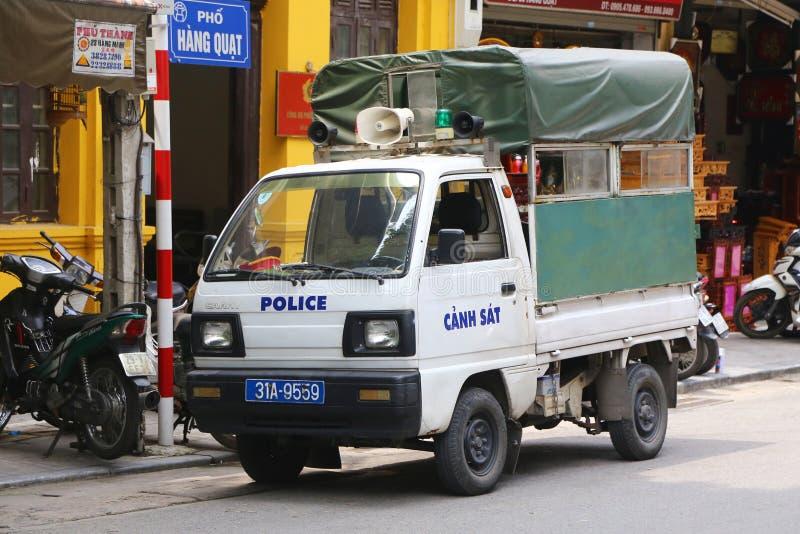 Polícia vietnamiana fotografia de stock royalty free