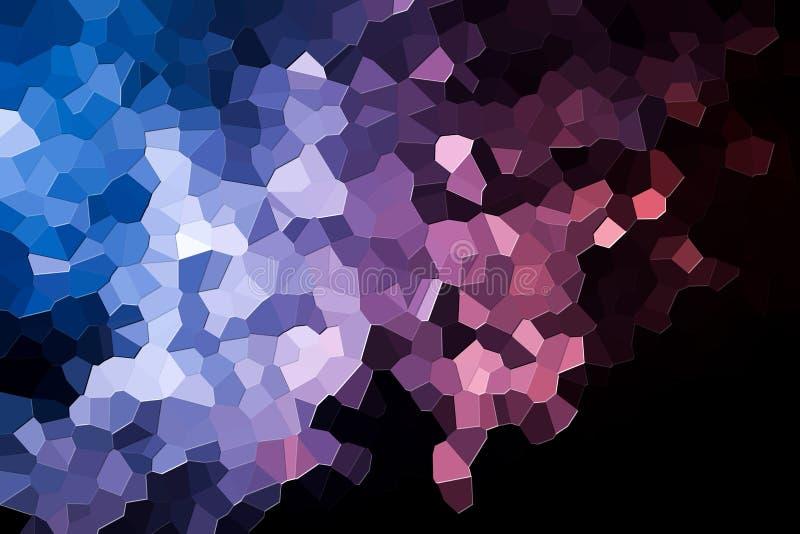 Polígono e triângulos geométricos abstratos ilustração stock