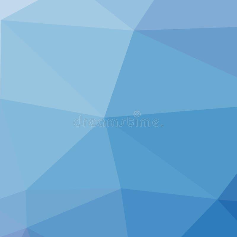 polígono Fondo geométrico en estilo de la papiroflexia con pendiente Formas geométricas quebradas stock de ilustración