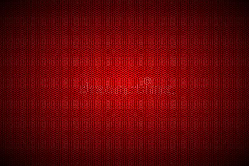 Polígono geométricos vermelhos modernos fundo, papel de parede metálico vermelho do sumário ilustração stock