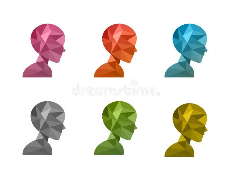 Polígono human1 libre illustration